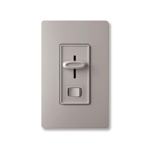 Skylark - Electronic Low-Voltage Dimmer - W/ On/Off Switch - 120V - 300W - Grey