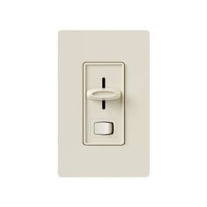 Skylark - Electronic Low-Voltage Dimmer - W/ On/Off Switch - 120V - 300W - Light Almond