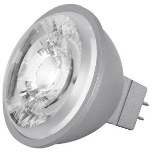 LED MR16 - 8W - Dimmable - 3000K Warm White - 12V AC/DC
