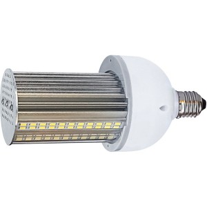 LED Corn Bulb - Wall Pack Series - 20W - 3000K Warm White - 100-277V AC