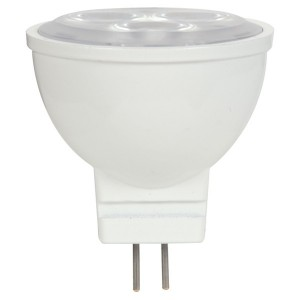 LED MR11 - 3W - Non-dimmable - 3000K Warm White - 12V AC/DC