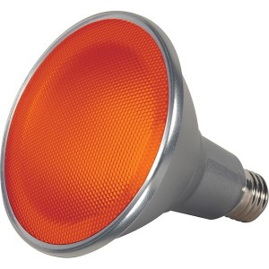 LED PAR38 Colour- 15W - Amber
