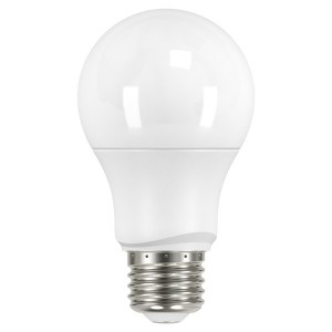 LED A19 Medium Base - 6W - Non-Dimmable - 3000K Warm White - 120V AC - 15,000 hrs lifespan