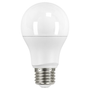 LED A19 Medium Base - 9.5W - Non-Dimmable - 3000K Warm White - 120V AC - 15,000 hrs lifespan