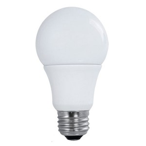 LED A19 - 10W - Non-Dimmable - 3000K Warm White - 120V AC - 10,000 hrs lifespan - 4 Packs