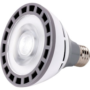 LED PAR38 - 18W - 3000K Warm White - 100-277VAC