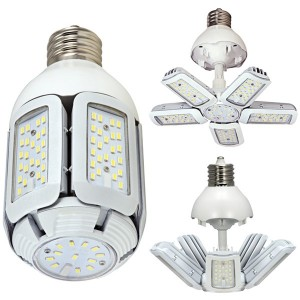 LED Corn Bulb - Multi-Beam Lamp - 60W - 5000K Cool White - 100-277V AC