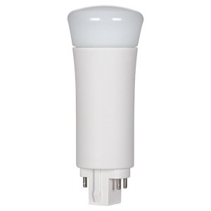 LED PL Bulb - 4-pin G24Q base - 9W - 5000K Cool White - Vertical - 120-277V AC