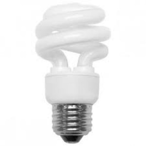 CFL Bulb - 32W - E26 Base - 5000K Cool White - Shatter Proof -10 packs