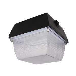Solar LED Canopy - 40W - 4000K Natural White - 347V AC