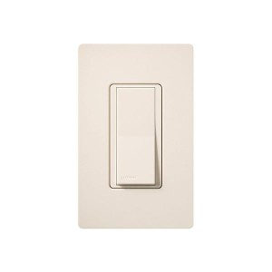 General Purpose Switches - Paddle Switch - Eggshell - 120V-277V - 15A - Stain Finish - Wall Plate Sold Separately