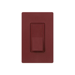 General Purpose Switches - Paddle Switch - Merlot - 120V-277V - 15A - Stain Finish - Wall Plate Sold Separately