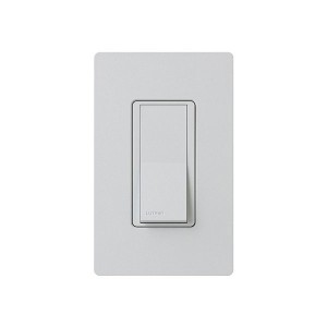 General Purpose Switches - Paddle Switch - Palladium - 120V-277V - 15A - Stain Finish - Wall Plate Sold Separately