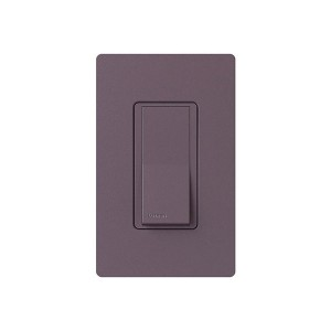 General Purpose Switches - Paddle Switch - Plum - 120V-277V - 15A - Stain Finish - Wall Plate Sold Separately
