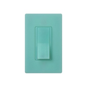 General Purpose Switches - Paddle Switch - Sea Glass - 120V-277V - 15A - Stain Finish - Wall Plate Sold Separately