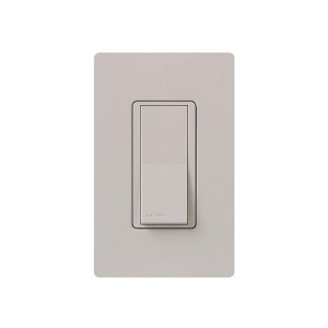 General Purpose Switches - Paddle Switch - Taupe - 120V-277V - 15A - Stain Finish - Wall Plate Sold Separately