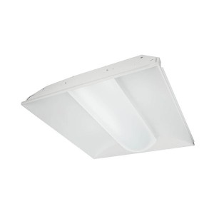 LED Recessed Troffer - LED Designer Series Volumetric Luminaire - 44W - 3500K Warm White - 120-277V AC
