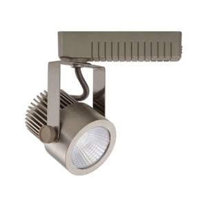 VEGA brushed nickel LED track fixture - 10W - 120VAC - 680 lumens - Brushed Nickel