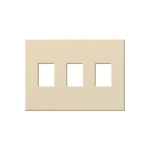 Vareo - Wallplates - For Dimmers - and Architectural accessories - 3-Gang - Beige