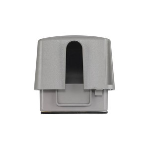 Outlet Cover - Weatherproof Plastic & Extra-Duty Plastic Cover - Double Gang - 120V - 30/50Amp - 4.75''Depth - Grey