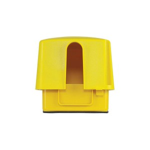 Outlet Cover - Weatherproof Plastic & Extra-Duty Plastic Cover - Double Gang - 120V - 30/50Amp - 4.75''Depth - Yellow