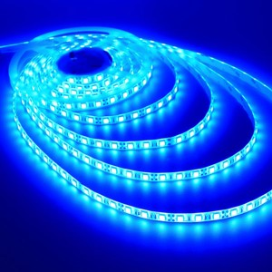 LED Strip Light - Blue - 72W - 12V DC - Waterproof