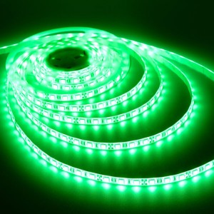 LED Strip Light - Green - 72W - 12V DC - Waterproof