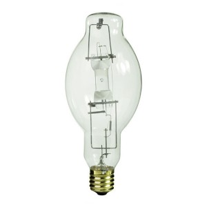 Metal Halide - 875W - 4000K Natural White - Mogul (E39) Base - Base Up Burn - Pulse Start - Clear Bulb - 12 packs