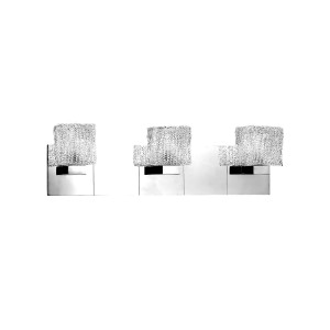 Rain 3-light Bathbar- Max. 105W - Wall Luminaire