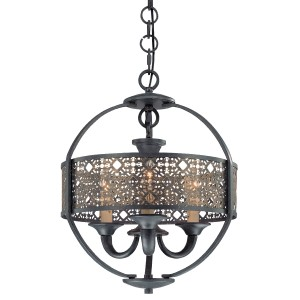 Arsenal 3-light Chandelier - Max. 180W - Pendant Luminaire