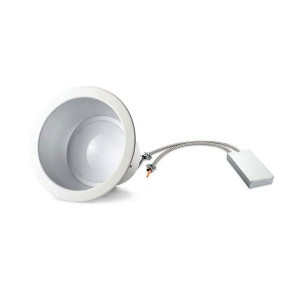 "LED 6"" Commercial Downlight - 23W - 4000K Natural White - 120-277V AC (Pack of 4)"