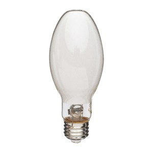 Metal Halide - 100W - 4000K Natural White - MasterColor - Medium (E26) Base - Universal Burn - Pulse Start - Coated Bulb - 12 packs
