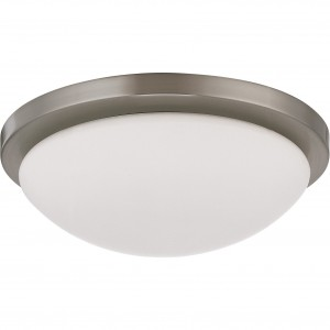 LED Flush Mount Ceiling Fixture - 18W - 3000K Warm White - 13 inch - Dimmable - 120V AC