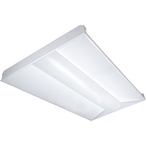 LED 2X4 Troffer - 40W - 3500K Warm White - 120-277V