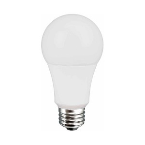 LED Light Bulb A19 - 8W - Dimmable - 3000K Warm White - 120V AC - 20,000 hrs lifespan