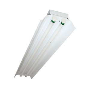 Fluorescent Strip Fixture - 4FT - 2-lamp T8 - 347V