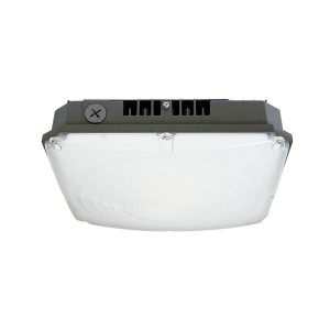 LED Canopy Fxiture - 40W - 4000K Natural White - 120-277V AC