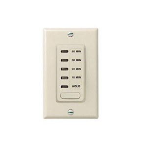 Intermatic - Electronic Countdown Timer - W/ Preset Timer 120V - 1800W Max.- Light Almond