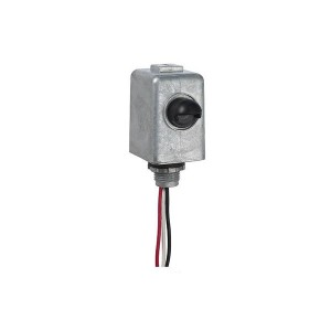 Intermatic - Electronic Photo Control - Die Cast Metal Stem Mount - 105-305VAC - 1800W Max. - 6A - Metal