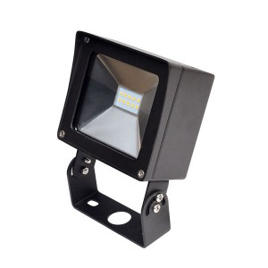 LED Compact Flood Light - 10W - 4000K Natural White - 120-277V AC - Trunnion Mount