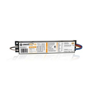 T8 Ballast - 4-lamp - Instant Start - 347V AC - High Efficiency - High Ballast Factor