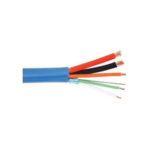 GRAFIK Eye® - Low Voltage Control Cable - Non-Plenum - 5 Conductor - 500 ft. L - 12 AWG & 18AWG & 22 AWG