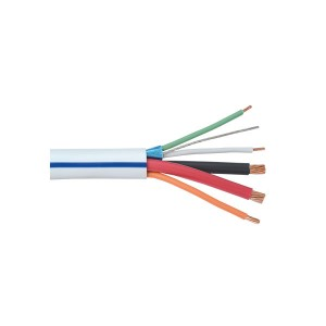 GRAFIK Eye® - Plenum Cable - 6 Conductor - 250 ft. L - 12 AWG & 18 AWG & 22 AWG & 24 AWG