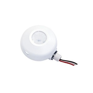 Occupancy Sensor - High Bay - Commercial Grade - PIR - Ceiling Mount - Universal - 120V-277VAC - White