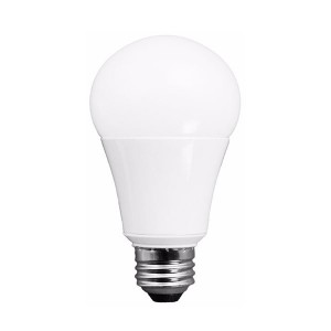 LED A19 - 15W - Dimmable - 3000K Warm White - 120V AC - 25,000 hrs lifespan