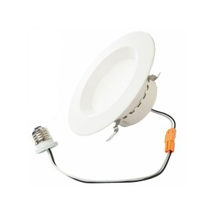 "LED 4"" Retrofit Kit Downlight - 7W - 3000K Warm White - 120V (Pack of 12)"