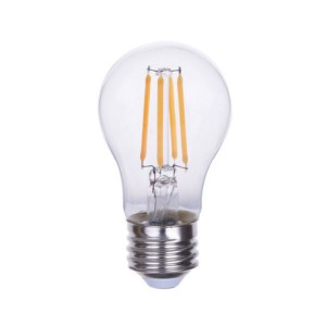 LED A15 Filament - 4.5W - 120V AC - E26 Base - 2700K Soft White