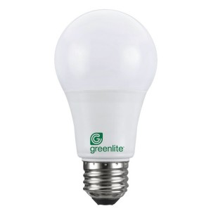 LED Omni A19  - 9W - Non-dimmable - 5000K Cool White - Fully Enclosed Fixtures Certificate (Pack of 12)