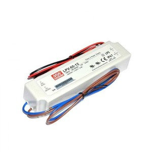 Single Output Switching Power Supply - 60W - LED Power Supply - 12V DC & 5 Amps Output