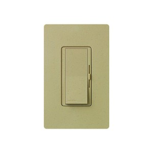LED / CFL Dimmer - Paddle Switch - Mocha Stone - 120V - 600W Max. - Satin Finsh - Wall Plate Sold Separately